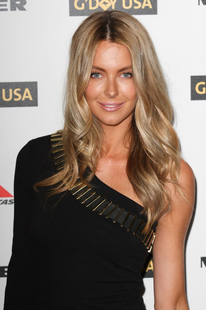 Jennifer Hawkins. I like this color. Natural looking blonde, neutral undertones and not too light.