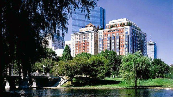HOTEL アメリカ・ボストンのホテル>有名なボストンコモンとパブリックガーデンを一望>タージ ボストン(Taj Boston)