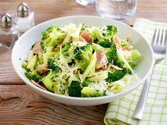 Brokkoli mit Schinken und Parmesan   – Low carb Rezepte