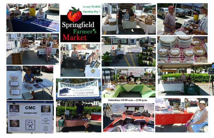Springfield Farmers Market, Springfield, VT. Farm fresh