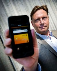 Carl Molinero, chef är mobila betalningar på Swedbank.