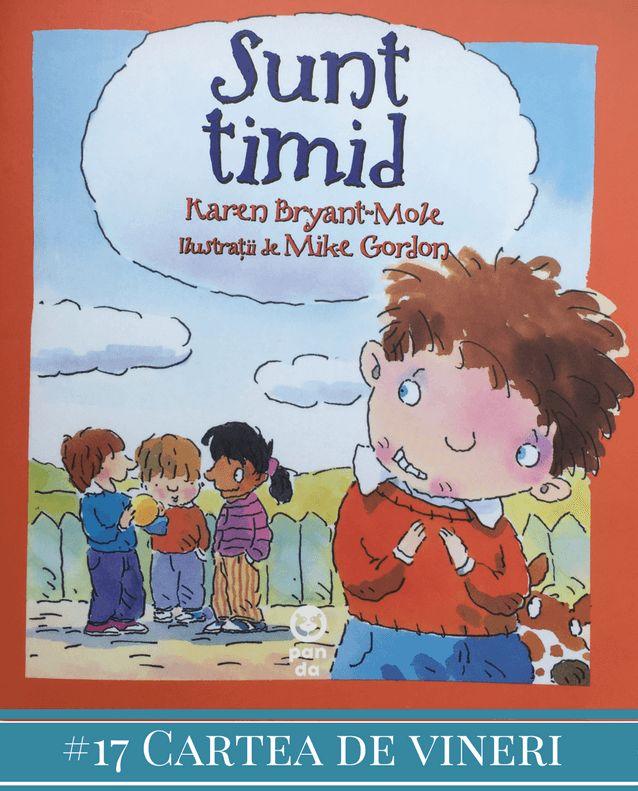 Sunt timid este o carte interactivă, menită să-i atragă pe cei mici în discuții despre situațiile în care se simt intimidați, despre ceea ce simt în astfel de momente, dar și despre soluțiile prin care pot învinge timiditatea. Despre ce este vorba Cartea Sunt timid începe prezentând mai multe stări prin care copiii trec…