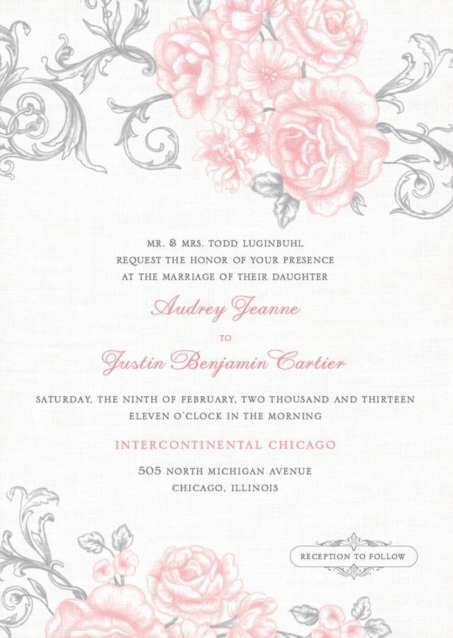 81 best Modern Wedding Invitations images on Pinterest   Invites ...