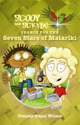 Scoop and Scribe are two young reporters searching for the secret of Matariki. This search takes them around New Zealand as a mystical kaumatua takes them to find the seven stars of Matariki. Story includes Māori vocabulary and factual information about Matariki. Suggested level: primary, intermediate.