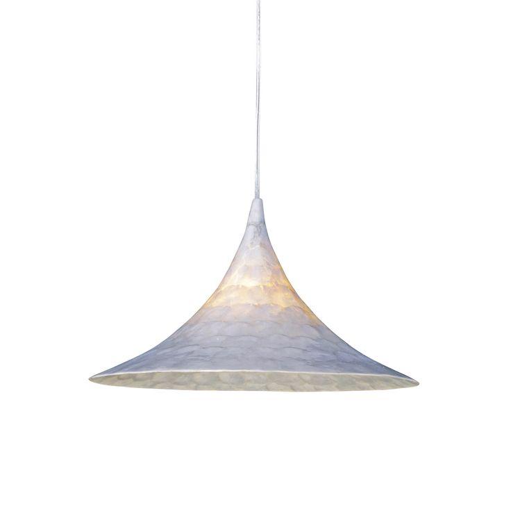 Näve Pendant Light, Ø 40cm, White | ACHICA