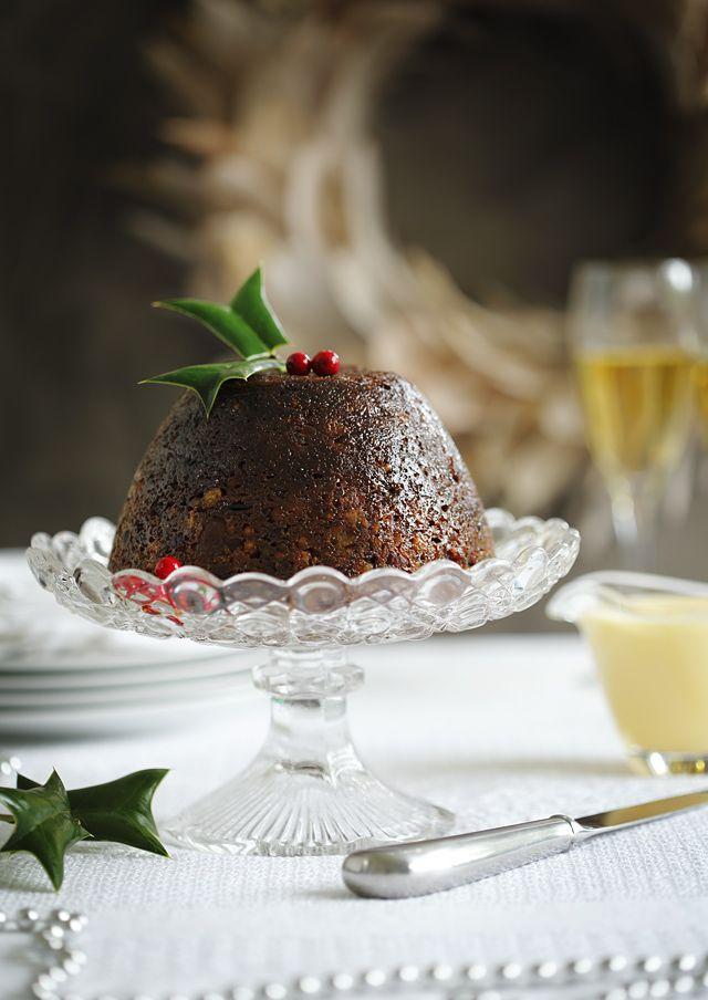 Boozy gluten-free Christmas pudding on Tanya's food blog. www.tanyazouev.com www.thecookwhoknewnothing.com