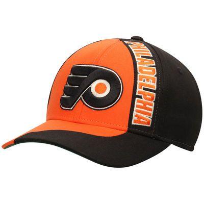 Philadelphia Flyers Reebok Retro Block Structured Adjustable Hat - Orange