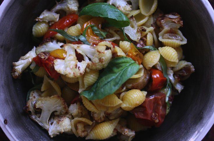 Cauliflower Caponata Pasta Recipe — Dishmaps