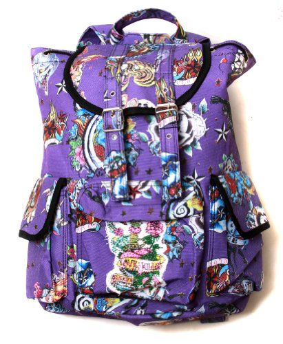 Hipster Rucksack Style Backpack - Purple Hard Style Tattoo Clover,http://www.amazon.com/dp/B008P4LBTC/ref=cm_sw_r_pi_dp_y.jitb0K309PGCAP
