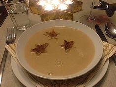 Winterliche Maronensuppe, ein tolles Rezept aus der Kategorie Gebundene. Bewertungen: 69. Durchschnitt: Ø 4,6.