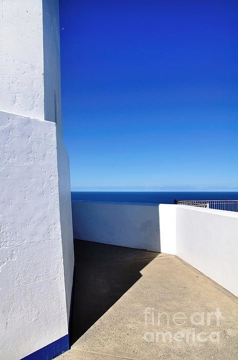 #WHITE & #BLUE TO #OCEAN #VIEW #Photography Quality Prints and Cards at:       http://kaye-menner.artistwebsites.com/featured/white-and-blue-to-ocean-view-kaye-menner.html  -