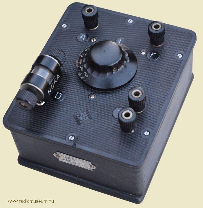 SRT ROD3 detektoros rádió