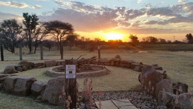 #Xombana sunset tonight at the Sundowner Boma