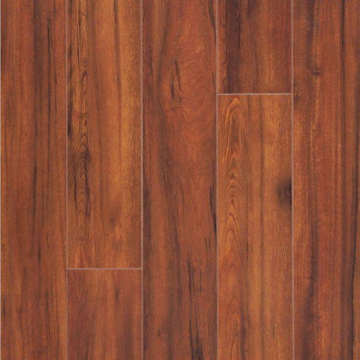 Hampton Bay Maraba Hickory Laminate, Red Hickory Laminate Flooring