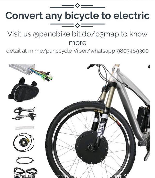 Convert Any Bicycle To Electric I Pancbike Pancbike Ebike