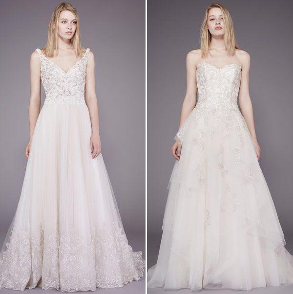 Vestidos de noiva Badgley Mischka – fall 2015