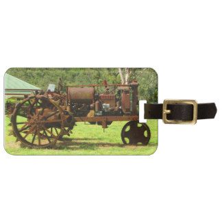 Old Tractor Tag For Bags
