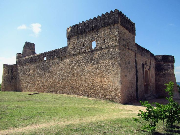 "The Gereza Kilwa Fort on Kilwa Kisiwani Island, Tanzania, was built by the Portuguese in 1505 and reconstructed by Omani Arabs after 1512. The name comes from the Portuguese ""igreja"" (church) which later came to mean ""prison"" in Swahili."