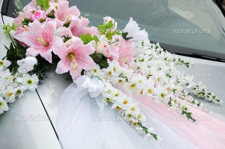 luxury car wedding arrangement - Recherche Google