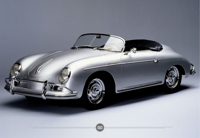 Porsche 356 Speedster: Brought into existence by Ferdinand Porsche himself, the 356 is considered Porsche's first production vehicle.