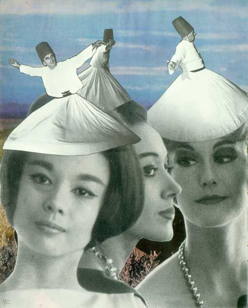 collageoftheweek:  Couture. © Peter Campbell