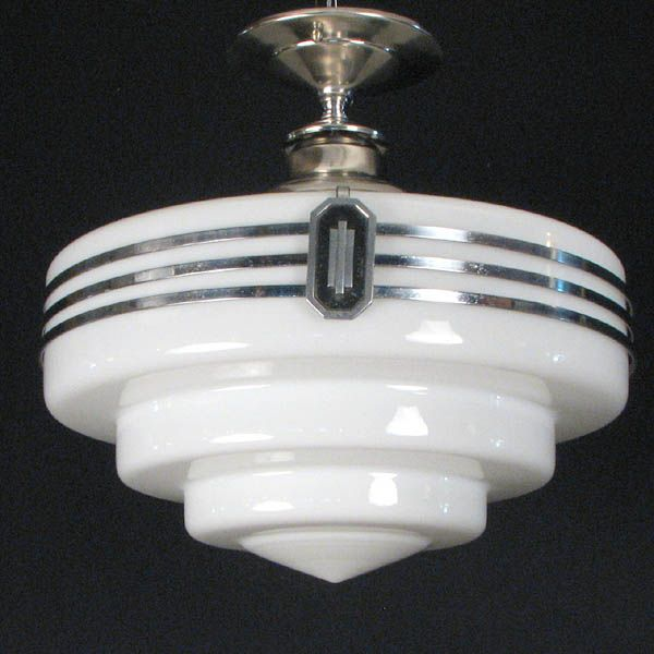 Art deco ceiling light. We have a similar repro in our kitchen. & Best 25+ Kitchen ceiling light fixtures ideas on Pinterest ... azcodes.com
