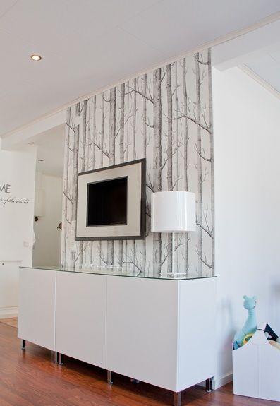 Album - 10 - Gamme Besta (Ikea) Buffets, éléments en suspension, bibliothèques, réalisations clients... - Changement de décor autour de la télé ?!