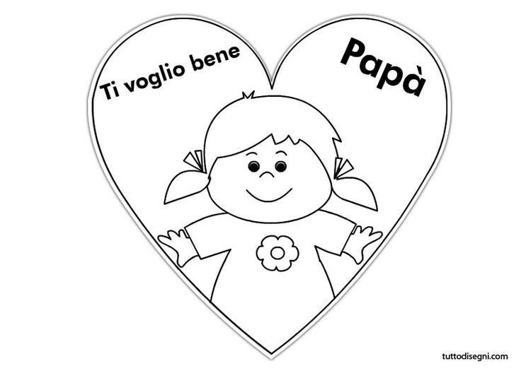 Biglietti Festa del Papà - TuttoDisegni.com