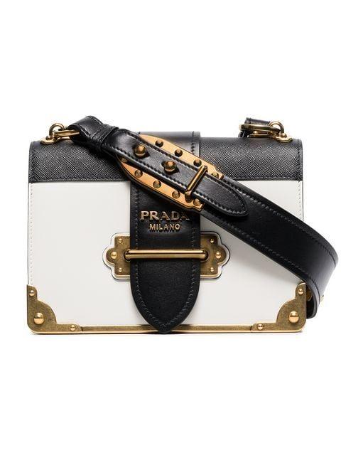 1281ad267b76 Prada Cahier Leather Shoulder Bag in 2019 | Buy Me a Gift? | Prada ...