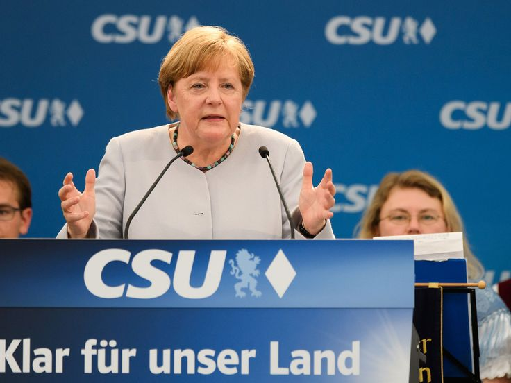 Angela Merkel says Germany can no longer rely on America under Donald Trump -    Angela Merkel  has suggested Germanyand Europe can no longer rely on the US under  Donald Trump  .   Speaking at a campaign event held in a Bavar... See more at https://www.icetrend.com/angela-merkel-says-germany-can-no-longer-rely-on-america-under-donald-trump/