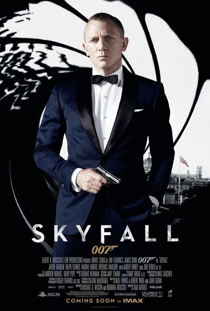 Skyfall is de 23e James Bond-film. De film is geregisseerd door Sam Mendes. De opnamen vonden onder andere plaats in Londen, Shanghai, Istanbul en Schotland.[3] Op 7 november 2011 werd gestart met de filmopnamen. Dit is een van de zes officiële films die niet op een boek van Ian Fleming gebaseerd zijn. De titelsong[4] is ingezongen door de Engelse zangeres Adele. De film kwam vijftig jaar na de eerste James Bond-film, Dr. No, uit.