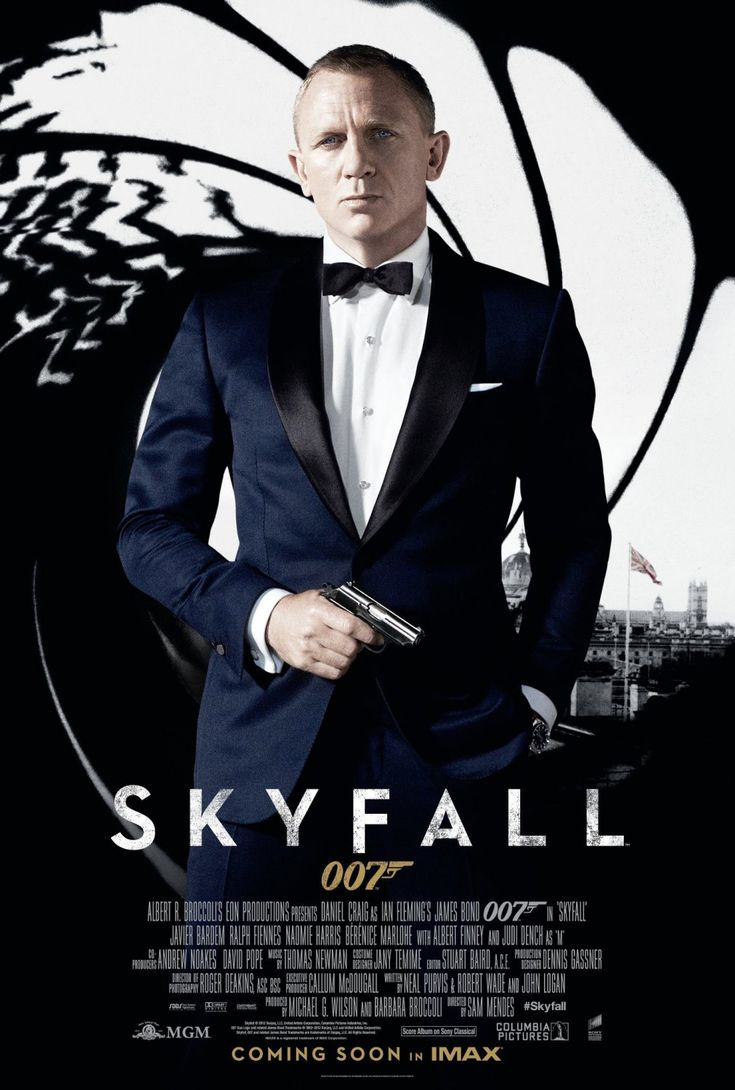 New Poster From SKYFALL