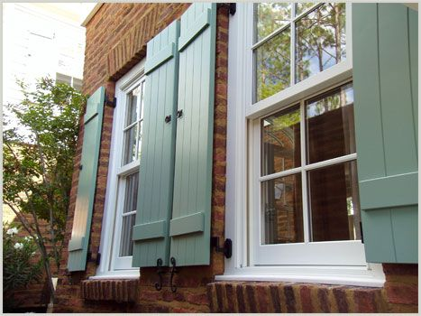Permex Products - Code Compliant Hurricane and Architecturally, Historically Accurate Exterior Shutters