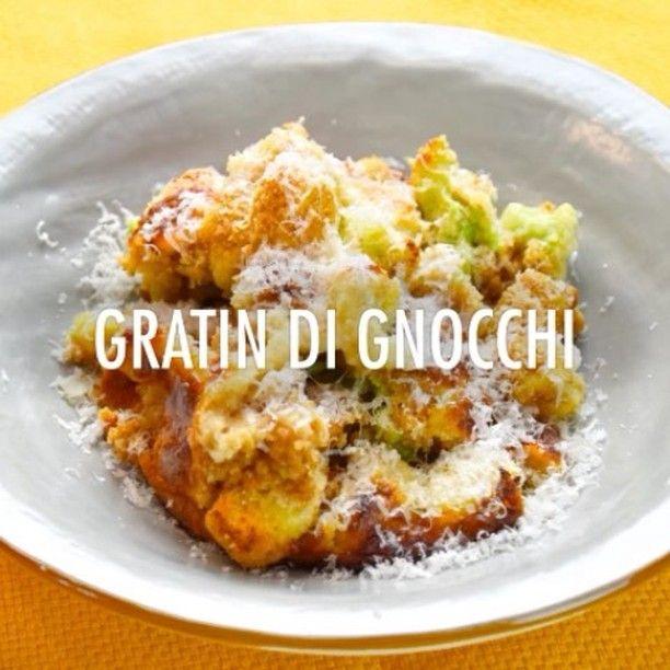 """""""Mi piace"""": 108, commenti: 1 - Chef In Camicia (@chefincamicia) su Instagram: """"Gratin di gnocchi ai cavolfiori e alici @delicius_official Trovate la ricetta sul nostro sito 👉🏻…"""""""