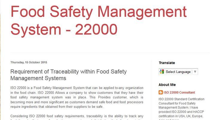 meet food safety requirements when providing Standard 322 food safety practices and general requirementssets out specific food handling controls related to the receipt, storage, processing, display, packaging, transportation, disposal and recall of food other requirements relate to the skills and knowledge of food handlers and their supervisors, the health and hygiene of food handlers.