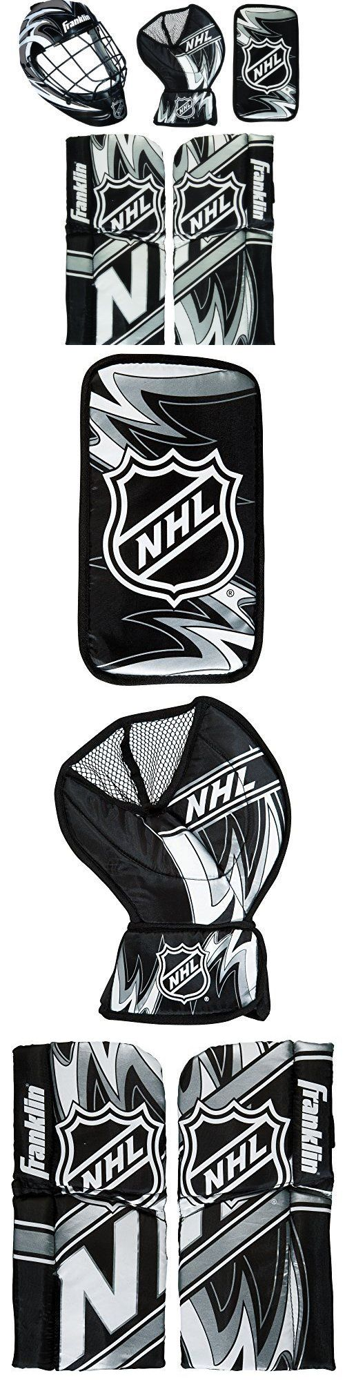Other Hockey Goalie Equipment 79765: Franklin Sports Nhl Mini Hockey Goalie With Mask Set, New -> BUY IT NOW ONLY: $41.6 on eBay!