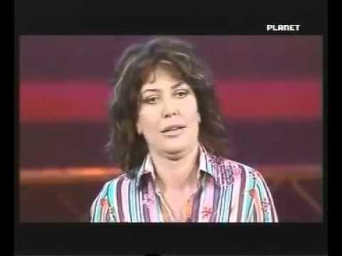 Sabina Guzzanti TV spazzatura, imita di Maria de Filippi