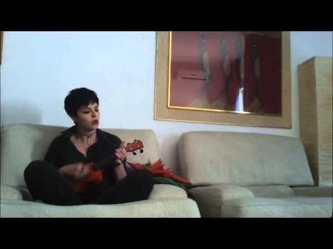 """Jennifer Valentine Blossom - """"Something"""" ukulele version (The Beatles co..."""