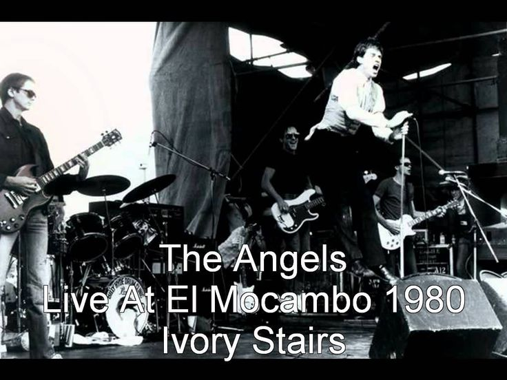 The Angels / Angel City - Ivory Stairs Live At El Mocambo, Toronto, Cana...