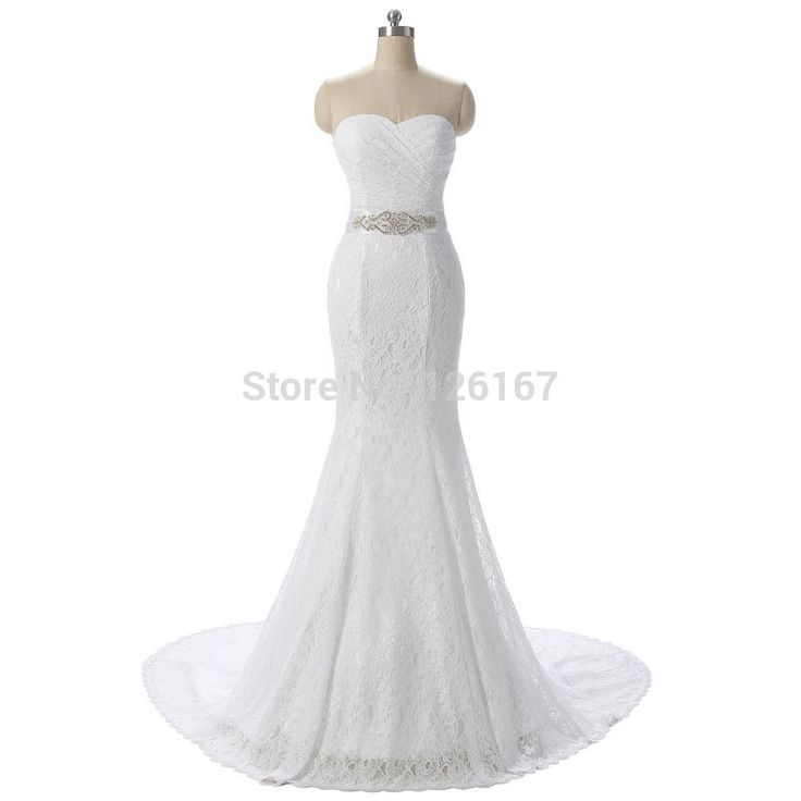 Like and Share if you want this  Vintage Strapless Mermaid Wedding Dress Beaded Sash Vestido De Noiva Lace Bride Gown Real Photos 2016 C002     Tag a friend who would love this!     FREE Shipping Worldwide     Buy one here---> http://onlineshopping.fashiongarments.biz/products/vintage-strapless-mermaid-wedding-dress-beaded-sash-vestido-de-noiva-lace-bride-gown-real-photos-2016-c002/