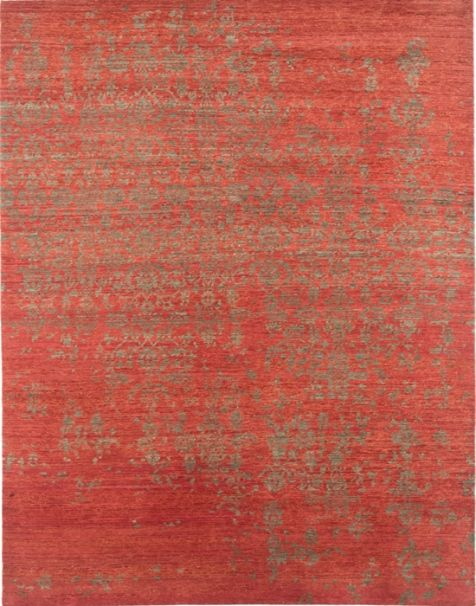 Selected Area Rug for Living room: Normandy Rug ts-1202 Russet and Burnt Olive