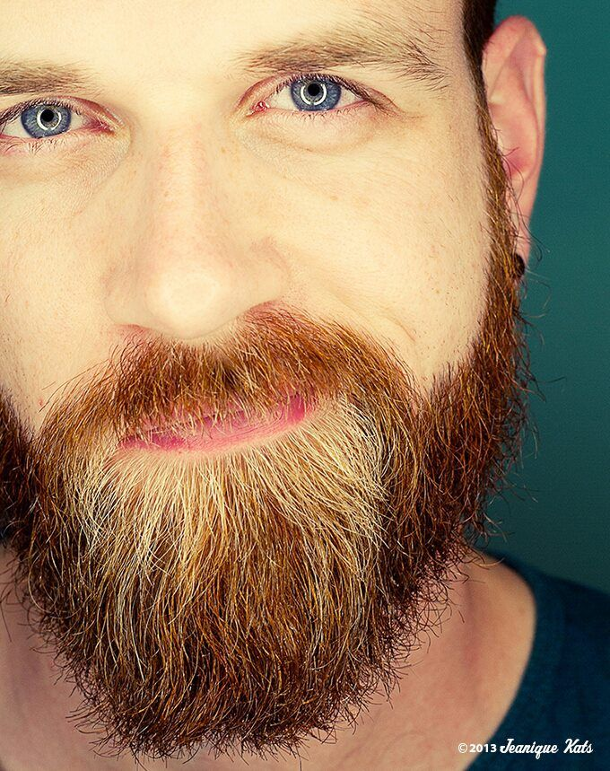 De baard van Emiel, 31, Netherlands. Is he a sweet thing or what? He uses Morroccanoil on his beard.