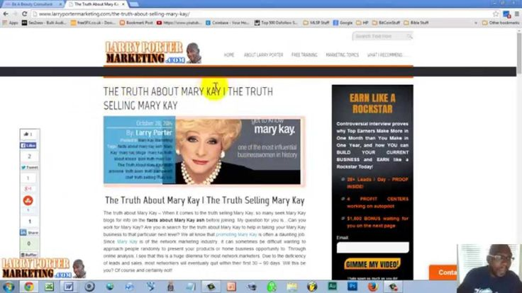 Mary Kay Business Tools | Why Blogging Benefits Mary Kay Consultants