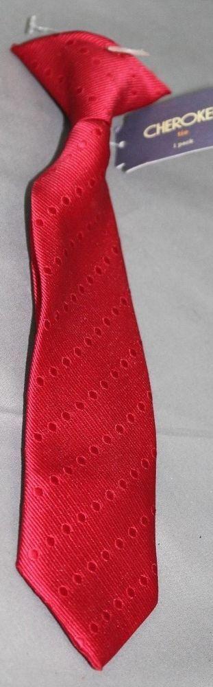 NWT Cherokee Toddler Boy's Clip on Tie Size 2T-5T #Cherokee #NeckTie