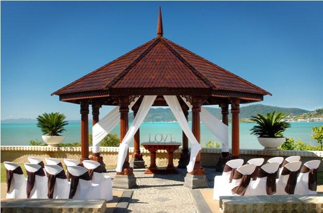 The pavilion at Villa Botanica, QLD.
