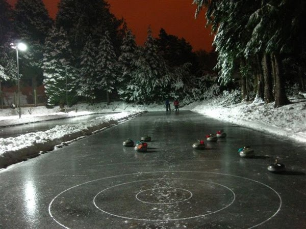 If I could curl outside, I would never stop playing! Greatest sport ever!