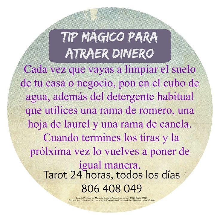 Consejo Mágico como limpiar el suelo y atraer Dinero | ~ TAROT con Margui Centeno