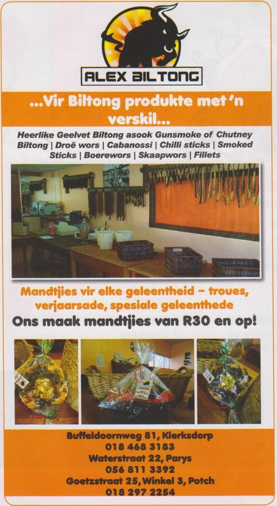 Biltong with a difference.....