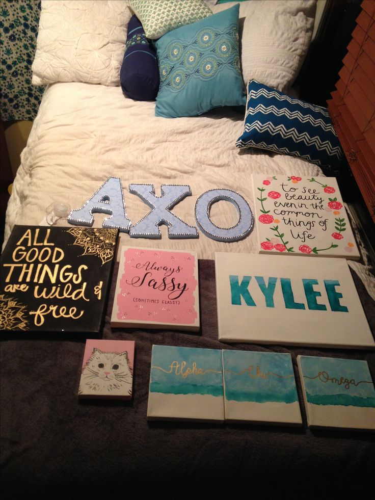 Alpha Chi Omega big/little canvases                                                                                                                                                                                 More