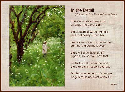 "Random Noodling: Poetry Friday--""In the Detail"" by Diane Mayr (Original poem)"